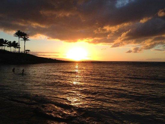 Kapalua Beach Sunset