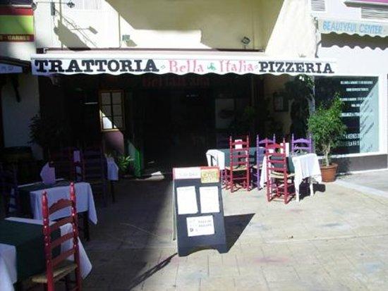 """Trattoria - Pizzeria Bella Italia : Trattoria - Pizzeia """"Bella Italia"""" exterior"""