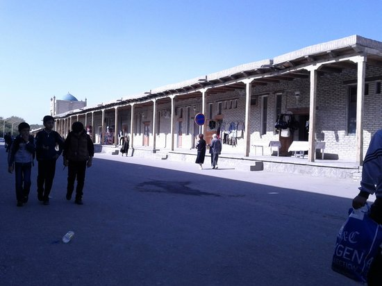 Bazaar in Vicinity of Trading Domes