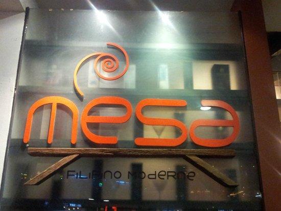 Mesa: Sign