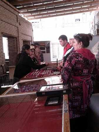 Trading Domes: Shopping Spree in a Jewelery Shop of Taki Zargaron