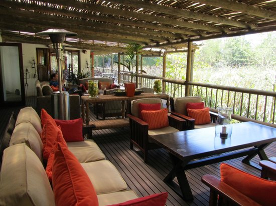 Woodall Country House and Spa: Beautiful Deck