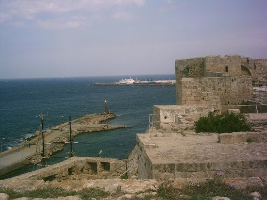 Port de Kyrenia : Castle ramparts