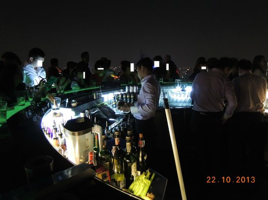 "Sathorn Terrace Apartment : Sky Bar ""The Dome at Lebua"""