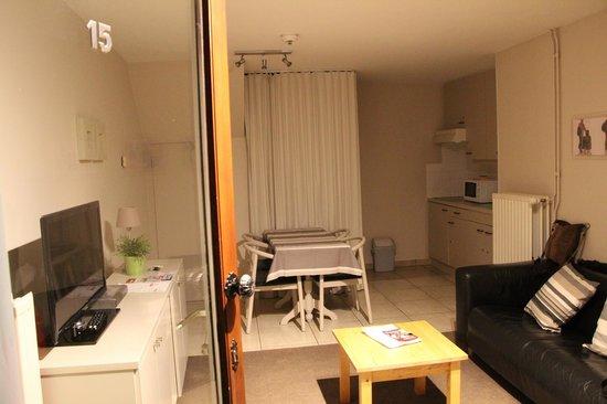 Bonobo Apart Hotel: Гостинная