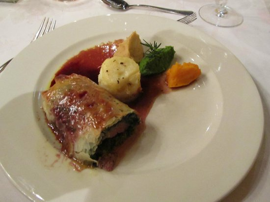 Woodall Country House and Spa: Ostrich Fillet