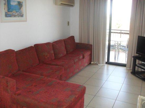 Windsurfer Resort: Lounge area