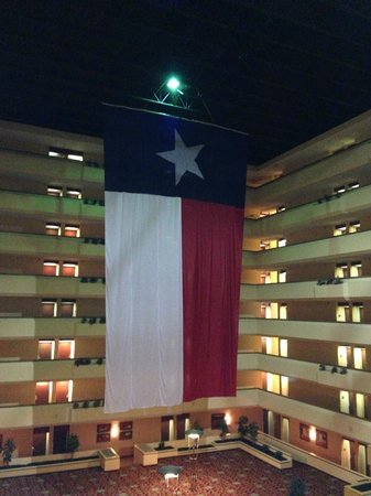 Holiday Inn Beaumont Plaza: This is what you see when you first walk in!