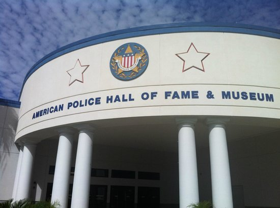 American Police Hall of Fame : Entrance