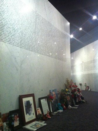 American Police Hall of Fame : Memorial