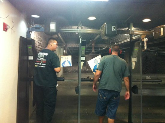 American Police Hall of Fame : Shooting range