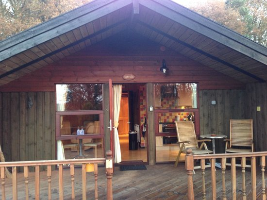 Spring Wood Lodges: Front of cabin