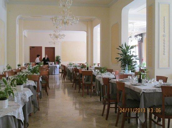 Hotel Terme Belsoggiorno: sala da pranzo