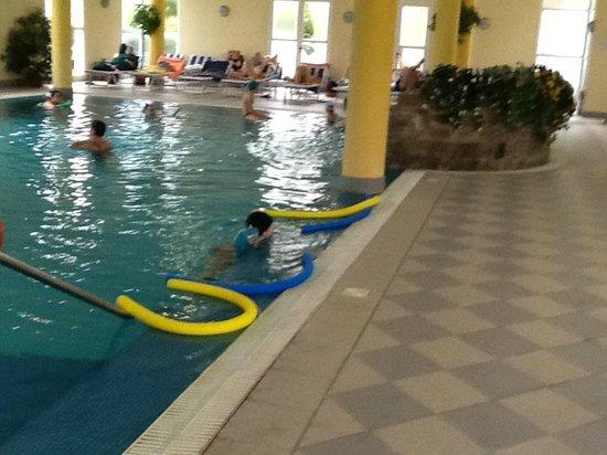 interno piscina - Picture of Hotel Terme Belsoggiorno, Abano Terme ...