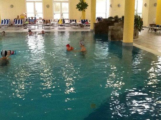 Hotel Terme Belsoggiorno : piscina interna