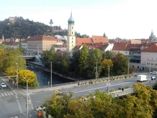 Hotel Das Weitzer : View from the 5th floor, room 537