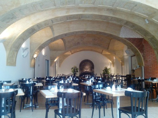 Hotel Das Weitzer: Breakfast Hall - nice nut mostly full of people, and loud acoustics