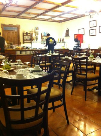 Hotel Finca Eslava: Comedor