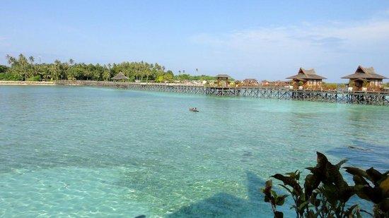 Mabul Water Bungalows: View