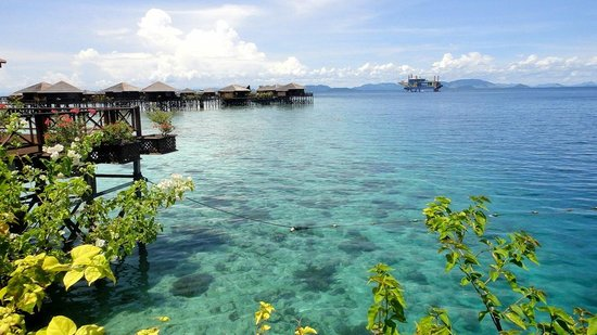 Mabul Water Bungalows: View