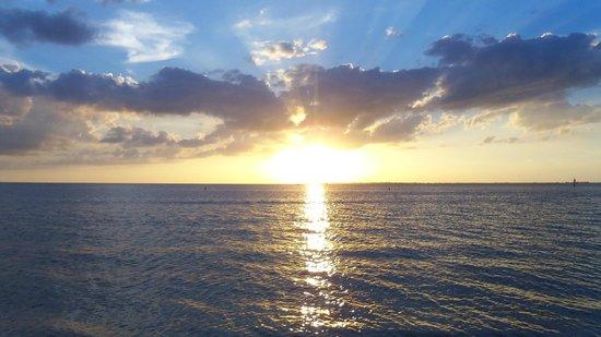 Pink Shell Beach Resort & Marina: sunset