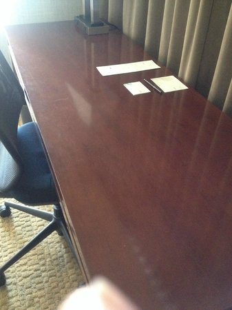 Westin Virginia Beach Town Center: The surfaces still had stains from previous guest.
