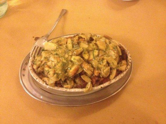 Osteria del Borgo: Polenta taragna con funghi porcini! I sapori del bosco! Ci mancherebbero due castagne! :D