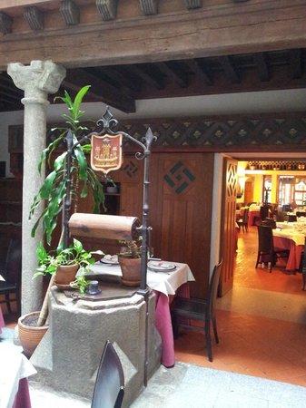 Hotel Spa La Casa Mudejar : Entrada al comedor
