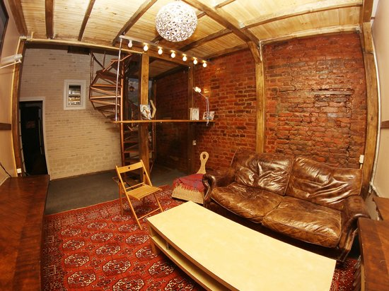 Mezzanine Hostel: Гостиная