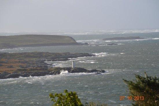 Clifden Bay Lodge: Photo prise depuis la maison