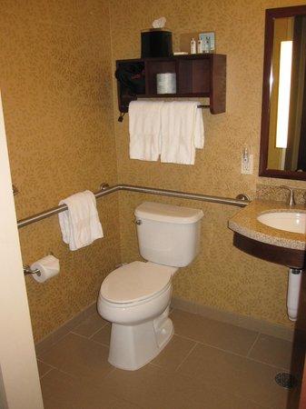 Hampton Inn Manhattan Grand Central: Toilet