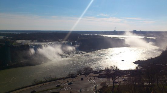 Sheraton on the Falls: This was the view from our room