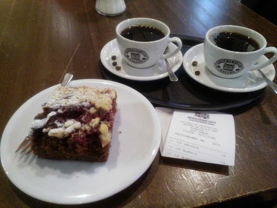 Speicherstadt Kaffeerösterei: un bel caffè caldo