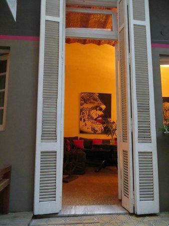 Hotel Costa Rica : Vue sur le salon