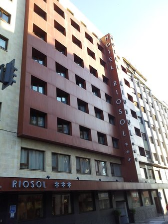 Hotel Riosol León: Fachada principal
