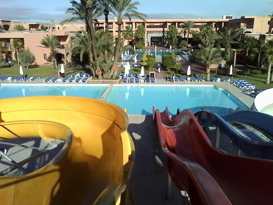 Atlas Targa All In Aqua Parc : zicht hotel