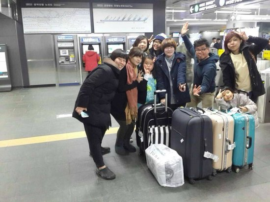 Rio House Hongdae: 幸福的旅行