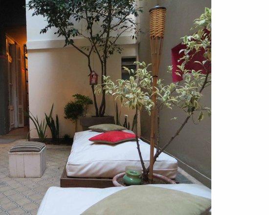 Hotel Costa Rica: En rez-de-chaussée, un coin cosy très agréable