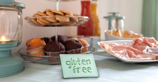 Residence Il Vittoriano: colazione senza glutine-glutenfree