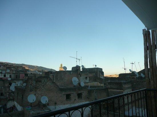 Dar Faracha Fès : Vistas desde la terraza de Dar Faracha