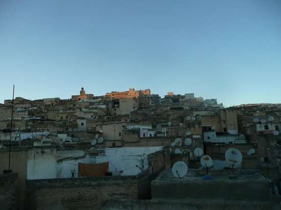 Dar Faracha Fès: Vistas desde la terraza de Dar Faracha