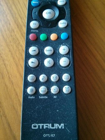 Radisson Blu Hotel & Spa, Galway : dust and grease on tv remote