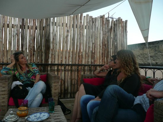 Dar Faracha Fès: En la terraza