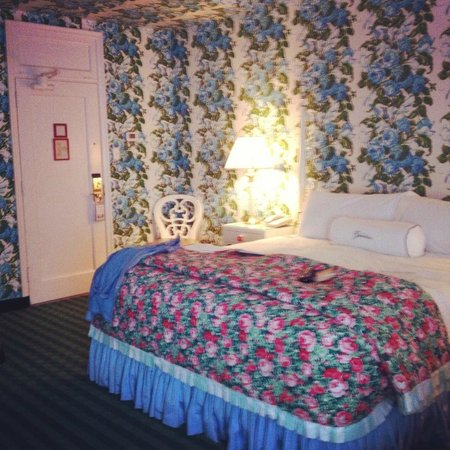 The Greenbrier: If you love floral....