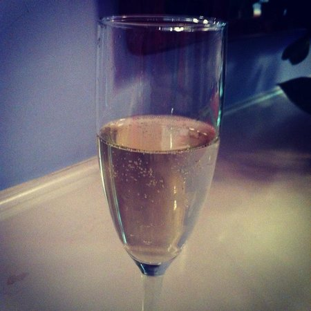 The Greenbrier: Champagne Welcome!