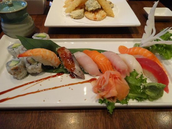 A A Jing : Sushi entrée - fresh and delicate flavors
