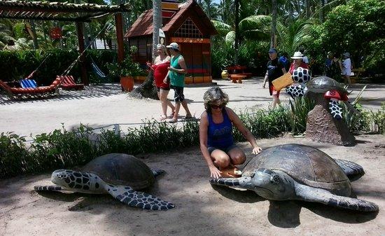 Carneiros Beach : Foto do ponto de apoio (Bora Bora)