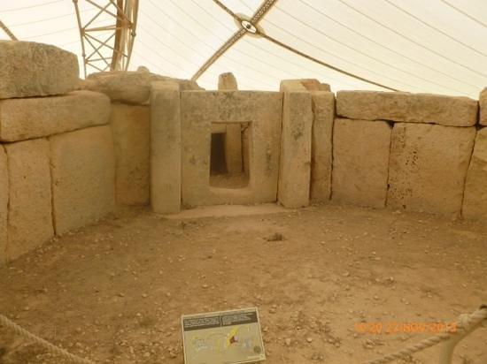 Hagar Qim: A doorway