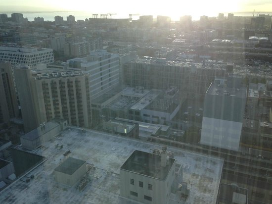 InterContinental San Francisco: Вид из окна