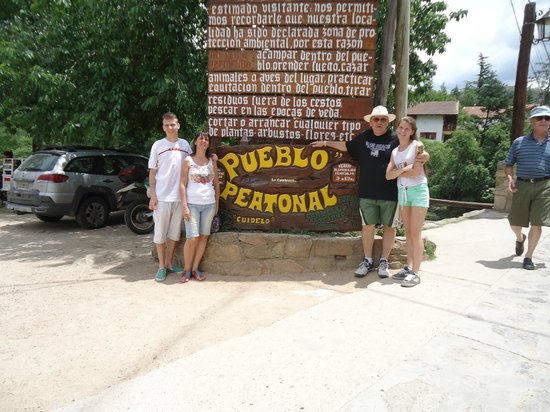 Río Subterráneo de la Cumbrecita: La Cumbrecita Pueblo Peatonal